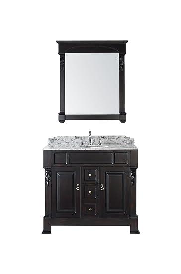 Virtu USA GS 4040 WMRO DW Huntshire 40 Inch Single Sink Bathroom
