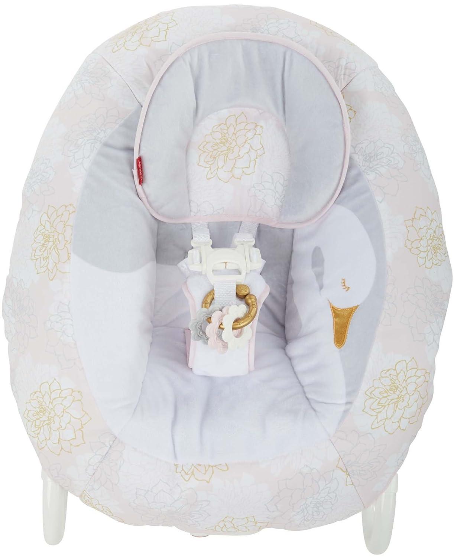 Fisher-Price My Sweet Swan 2-in-1 Deluxe Cradle n Swing