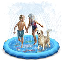 Deals on Qpau 68-inch Sprinkle and Splash Play Mat