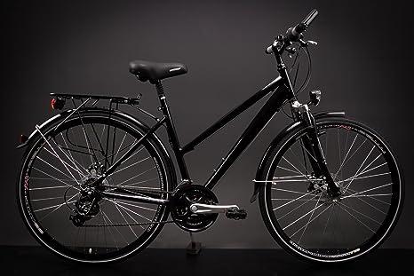 28 Aluminio Mujer bicicleta bicicleta eléctrica 21 velocidades ...