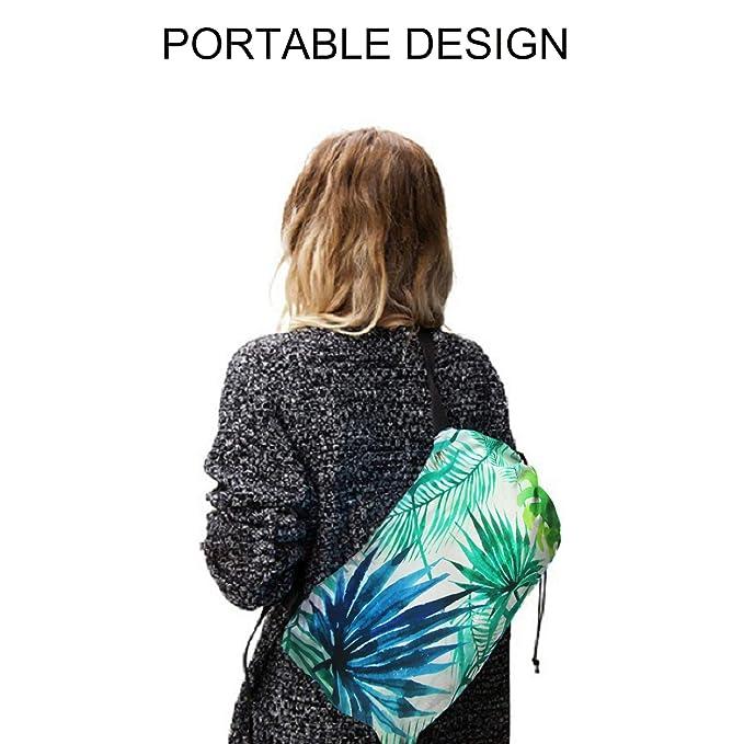 Amazon.com: Forny - Sofá inflable con tumbona flotante a ...