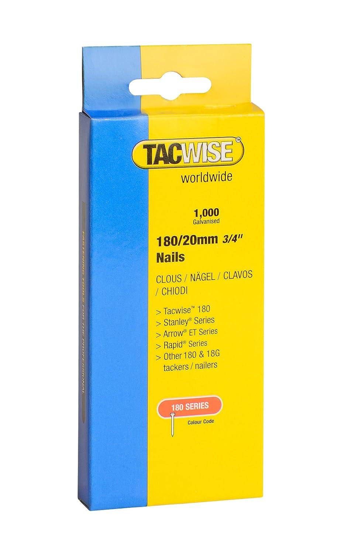 Tacwise Nä gel Verzinkt 180/35 mm, 1000 Stü ck, 0364