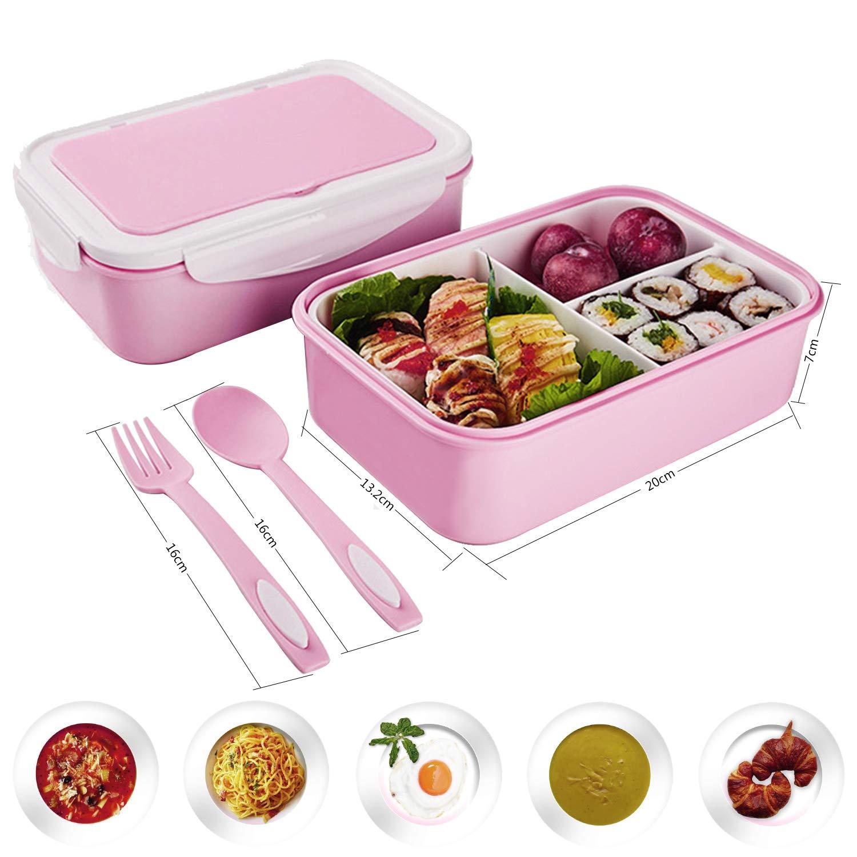 Praktische Bento Box für den Transport von Mahlzeiten Lunchbox Des...