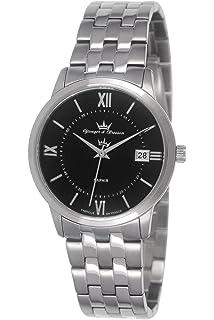Mit Datum Armband 049s Damen Uhr amp;bresson Quarz Dcp Norm Leder Yonger 2DE9WYHI