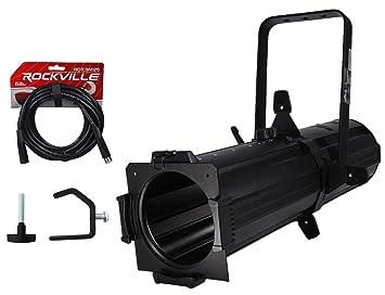 Chauvet DJ EVE E 100Z White Ellipsoidal Gobo Projector Spot Light Clamp Cable