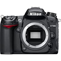 Nikon D7000 Digital SLR Camera Body Only (16.2MP) 3 inch LCD – (Discontinued by Manufacturer)