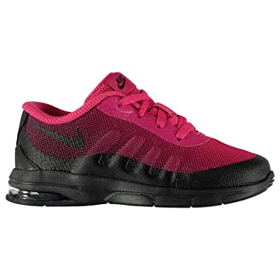 f0372658c3 Nike Air Max Invigor Print Infant Girls Trainers Shoes Footwear Pink/Black  (UK C5