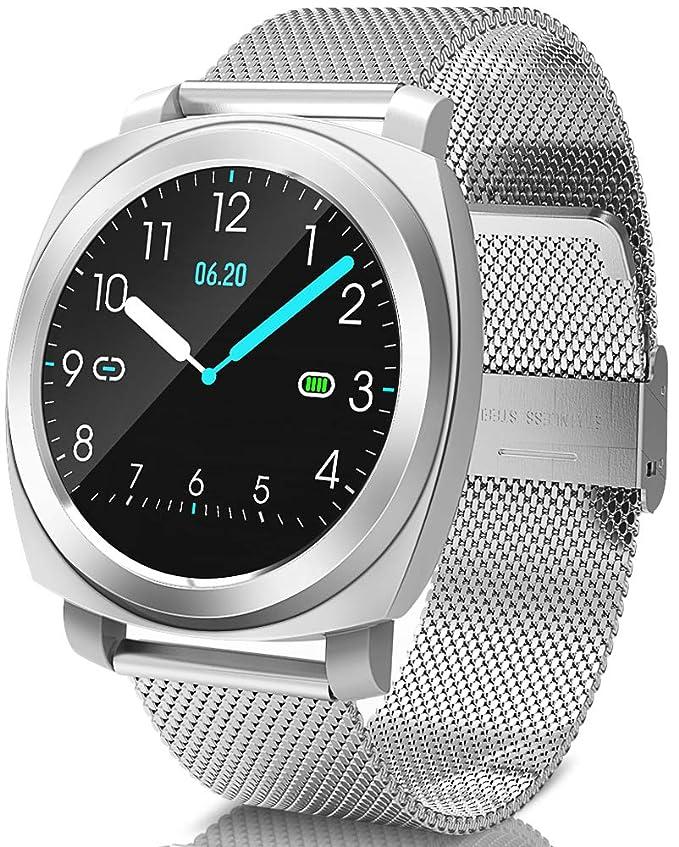 BANLVS Smartwatch, Reloj Inteligente Impermeable 67 con ...