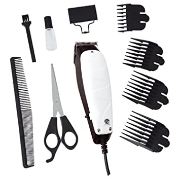 Raxter Pet Grooming Clippers 4 Comb Guides Pet Hair Shaver
