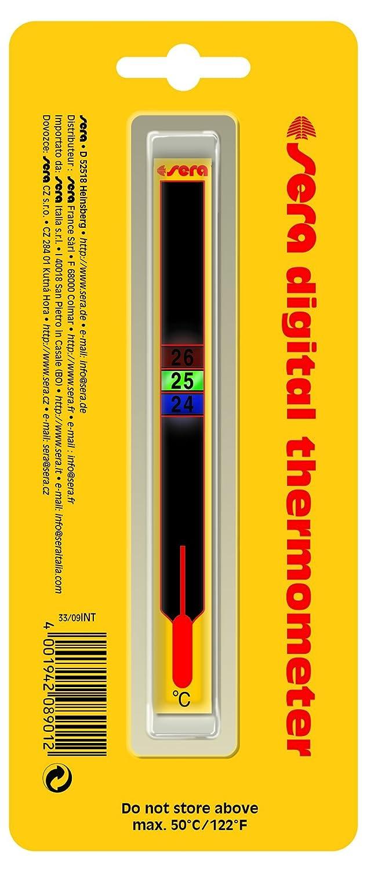 SERA 08901Althe numérique Thermomètre Flottant–Particulièrement attraktives, numérique klebet hermometer