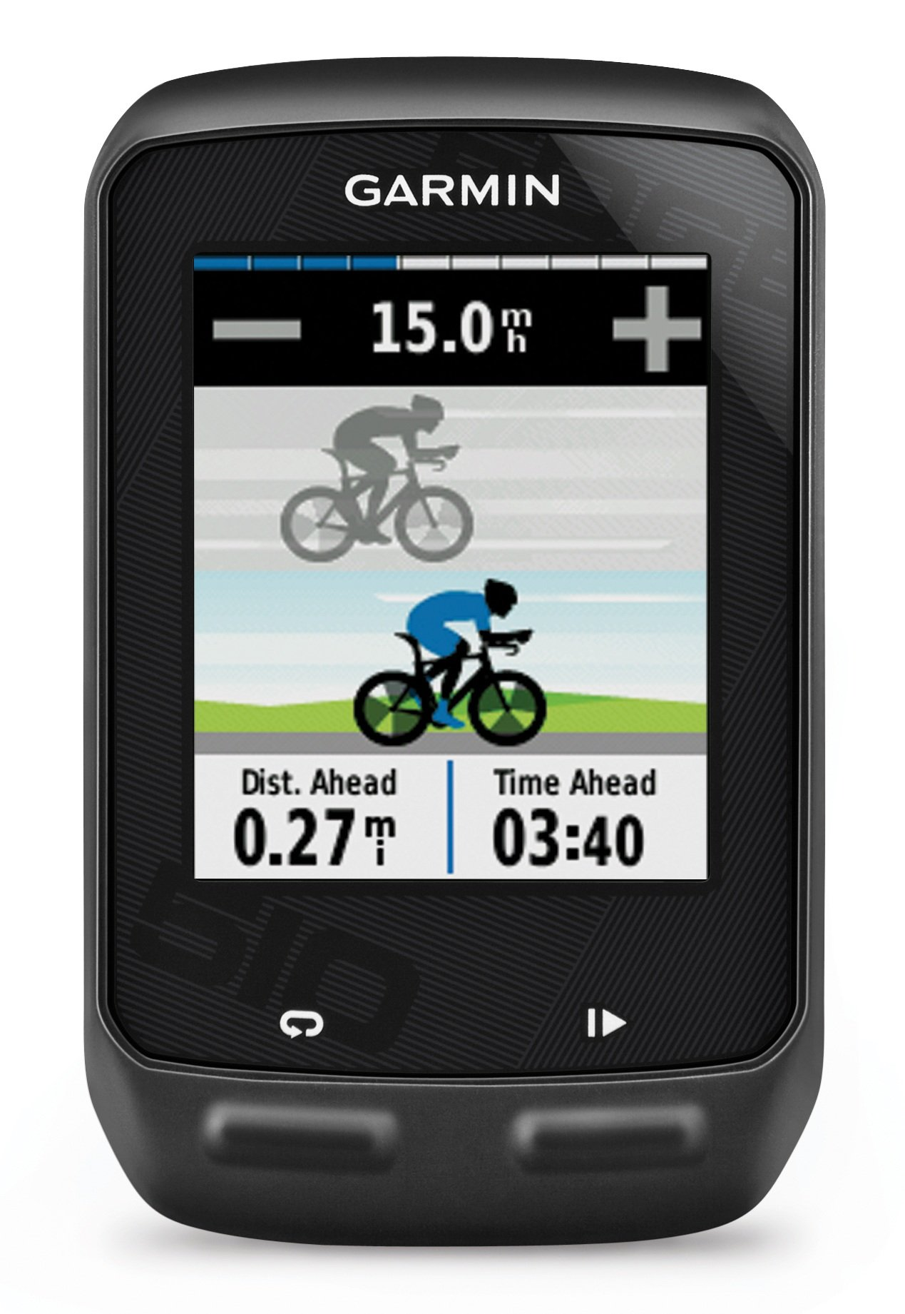 Garmin Edge 510 GPS Bike Computer with Heart Rate Monitor and Speed/Cadence Sensor product image