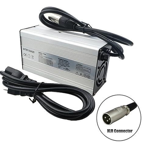 Amazon.com: 42 V 5 A cargador para 10S 36 V batería de iones ...