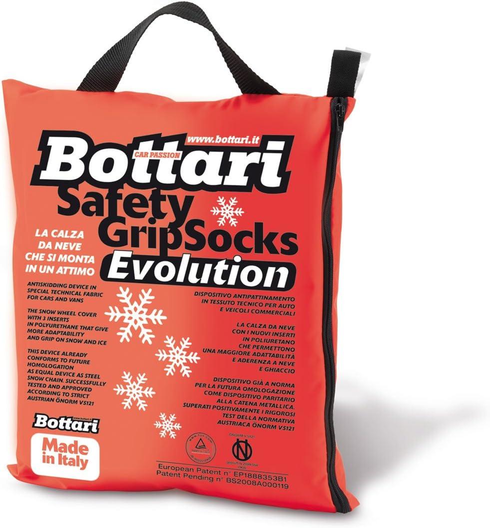 4 stagioni o invernali Bottari 68058: Calze da neve per auto Taglia XL Prodotto compatibile con tutti gli pneumatici estivi