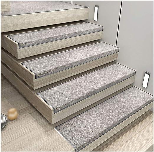 GYL Alfombras de escalera Paso de Escalera Antideslizante, Fondo ...
