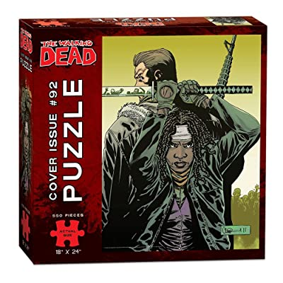 USAOPOLY The Walking Dead Cover Art Issue 92 Puzzle (550 Piece): Toys & Games