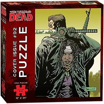USAopoly The Walking Dead Cover Art Issue 92 Puzzle (550 Piece): Amazon.es: Juguetes y juegos