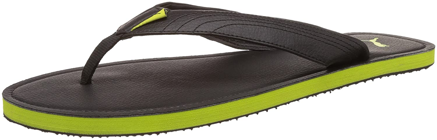 1a509b66e36 Puma Men s Ketava III DP Black and Macaw Green Hawaii Thong Sandals - 12 UK  India (47 EU)  Buy Online at Low Prices in India - Amazon.in
