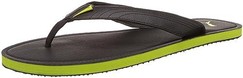 67f7e99a70d Puma Men s Ketava III DP Black and Macaw Green Hawaii Thong Sandals - 12 UK