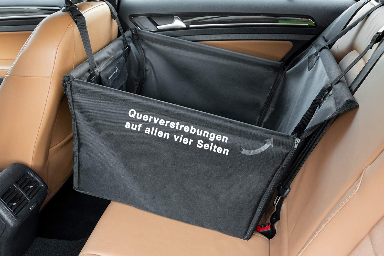 Lionstrong Hunde Autositz Kleine Bis Mittlere Hunde Hundesitz Wasserdicht Hundedecke Einzelsitz Für Die Rückbank Inkl Sicherheitsgurt Für Den Hund Rücksitz Haustier