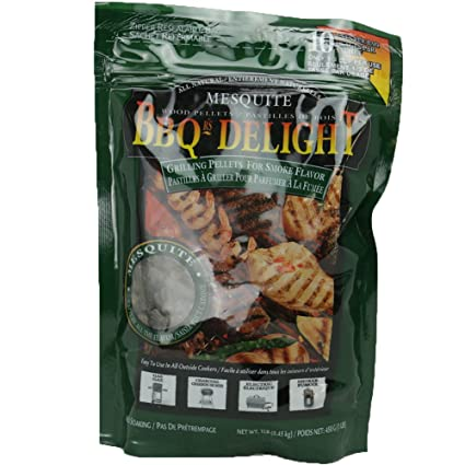 Amazon.com: BBQrs Delight Pellets de madera para parrillas ...