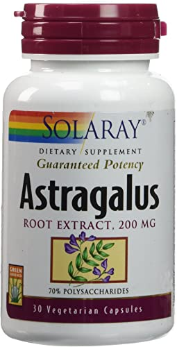 Solaray – Astragalus Root Extract, 200 mg, 30 capsules