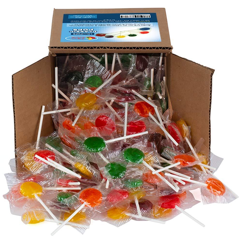 Lollipops - Classic Lollipops - Candy Suckers - Assorted Flavors - Bulk Candy - 2.5 Pounds