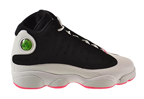 for whole family fashion website for discount Jordan Air Retro 13 GG Big Kids Shoes Black/Hyper Pink-White 439358-008