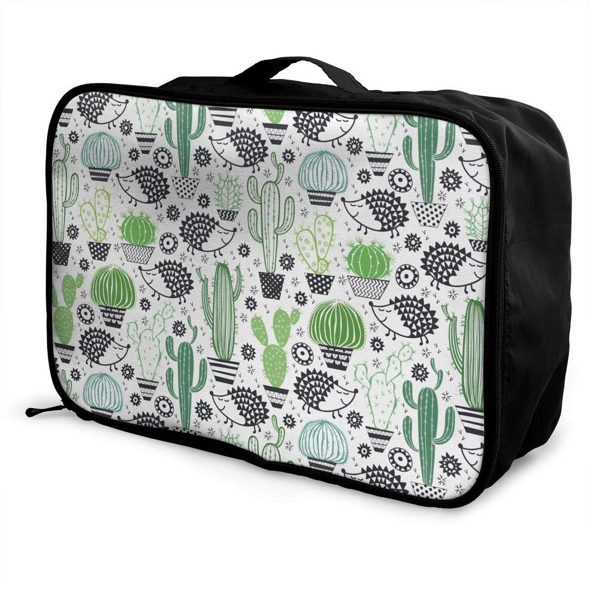 ADGAI Cartoon Style Inspired Drawing Canvas Travel Weekender Bag,Fashion Custom Lightweight Large Capacity Portable Luggage Bag,Suitcase Trolley Bag