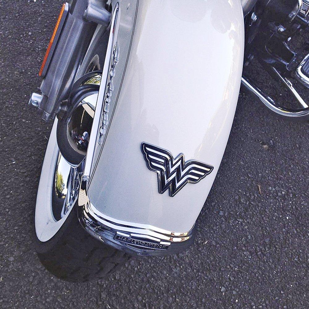 Fan Emblems Wonder Woman Logo 3D Car Emblem Black//Chrome Windows Trucks Almost Anything LNI AUSTRALIA 9672-010 Motorcycles DC Comics Automotive Sticker Decal Badge Flexes to Fully Adhere to Cars Laptops