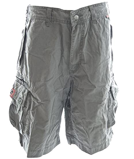 dd2621e2ea Molecule Men's Beach Bumpers Cargo Shorts Bermuda Grey - Grey - Small
