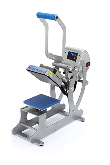 """Best Heat Press for On-Site Printing or Events: Hotronix 6""""x6"""" Auto Open"""