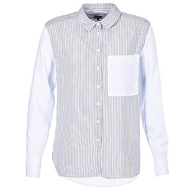 7eb126c3fec Pepe Jeans Chemise Mila XL Bleu  Amazon.fr  Vêtements et accessoires