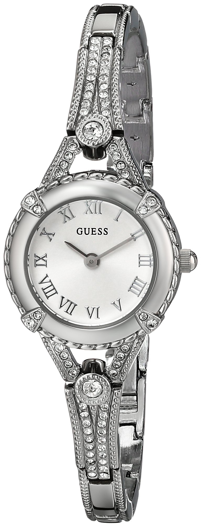 GUESS Women's Stainless Steel Petite Vintage Inspired ...