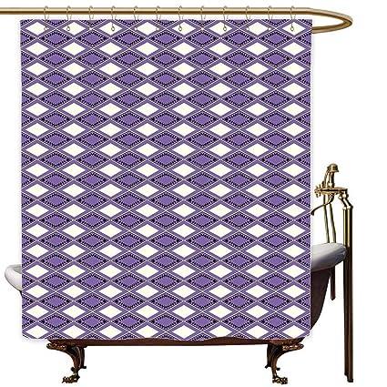 Amazon com: Bathtub Splash Guard Geometric Geometric Shapes Rhombus