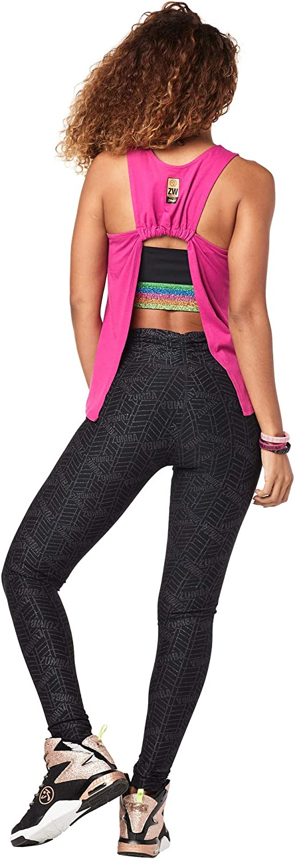 Zumba Activewear Backless Top Deportivo Dance Fitness Camisetas de Entrenamiento