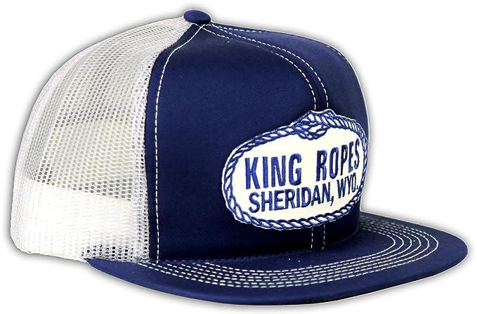 6de5957ba653d King Ropes Kings Saddlery Brand Mesh Hat (Blue)  Amazon.ca  Clothing ...