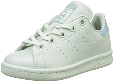 29fc2cfe81 adidas Stan Smith, Baskets garçon, Vert Linen Tactile Green, 28 EU