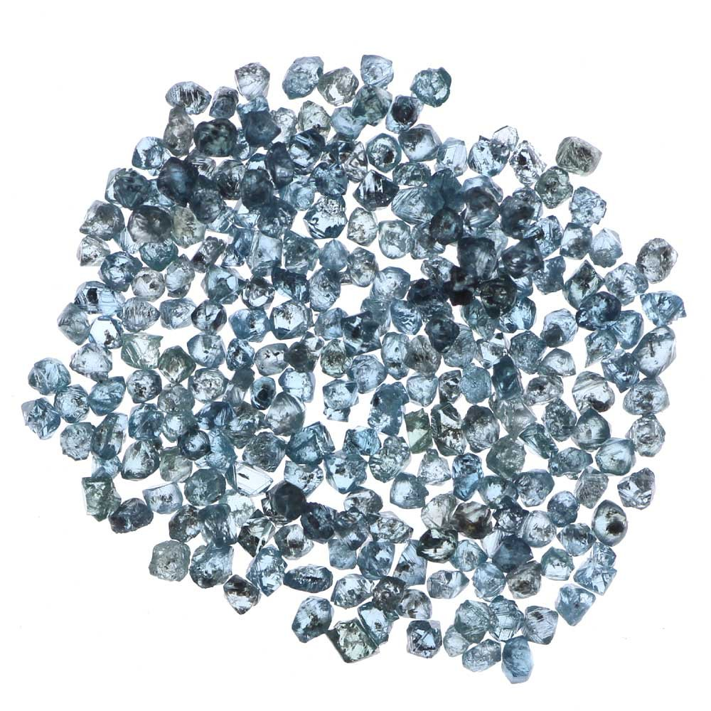 Kakadiya Group 2.00 Ct. Natural Loose Rough Diamond Wholesale Blue Color Tiny Lot