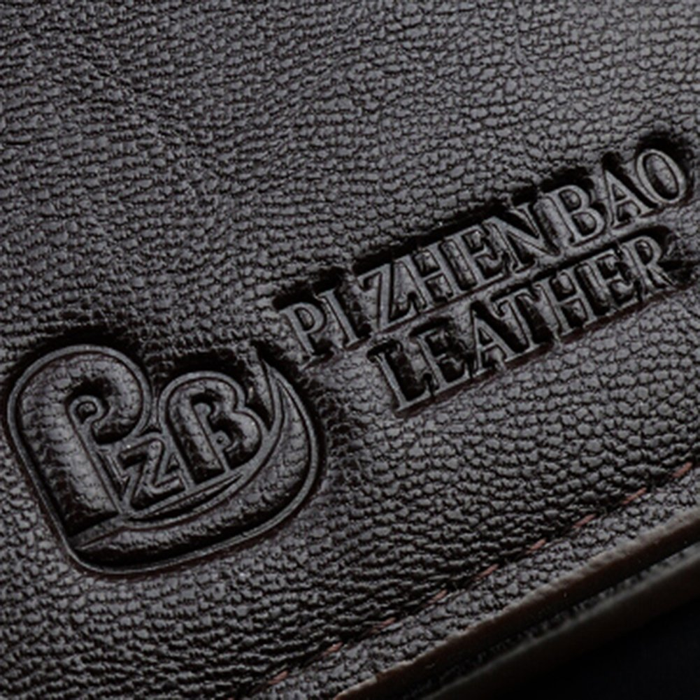 Bifold Mens Faux Leather Wallet with Card Holder Vintage Purse Pocket Gift