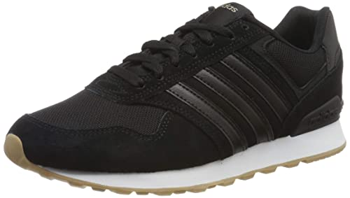 outlet store 43bc4 d72d1 adidas 10K Scarpe da Running Uomo, Nero Core Black Ftwr White, 39 EU
