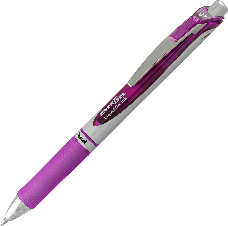 Pentel Pink BCA Pentel EnerGel RTX Retractable Gel Ink Pen Pack