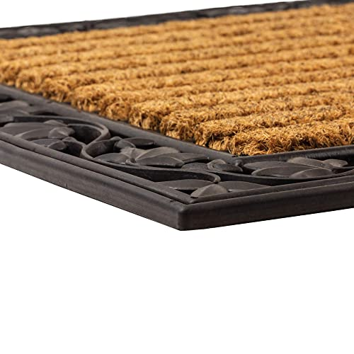 NoTrax C04 Ivy Leaf Coir Mat for Indoor Outdoor Use 24 x36