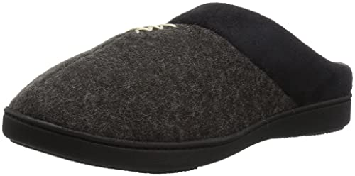 9fbebcd8169a0 ISOTONER Women s Microsuede Knit Marisol Hoodback Slippers