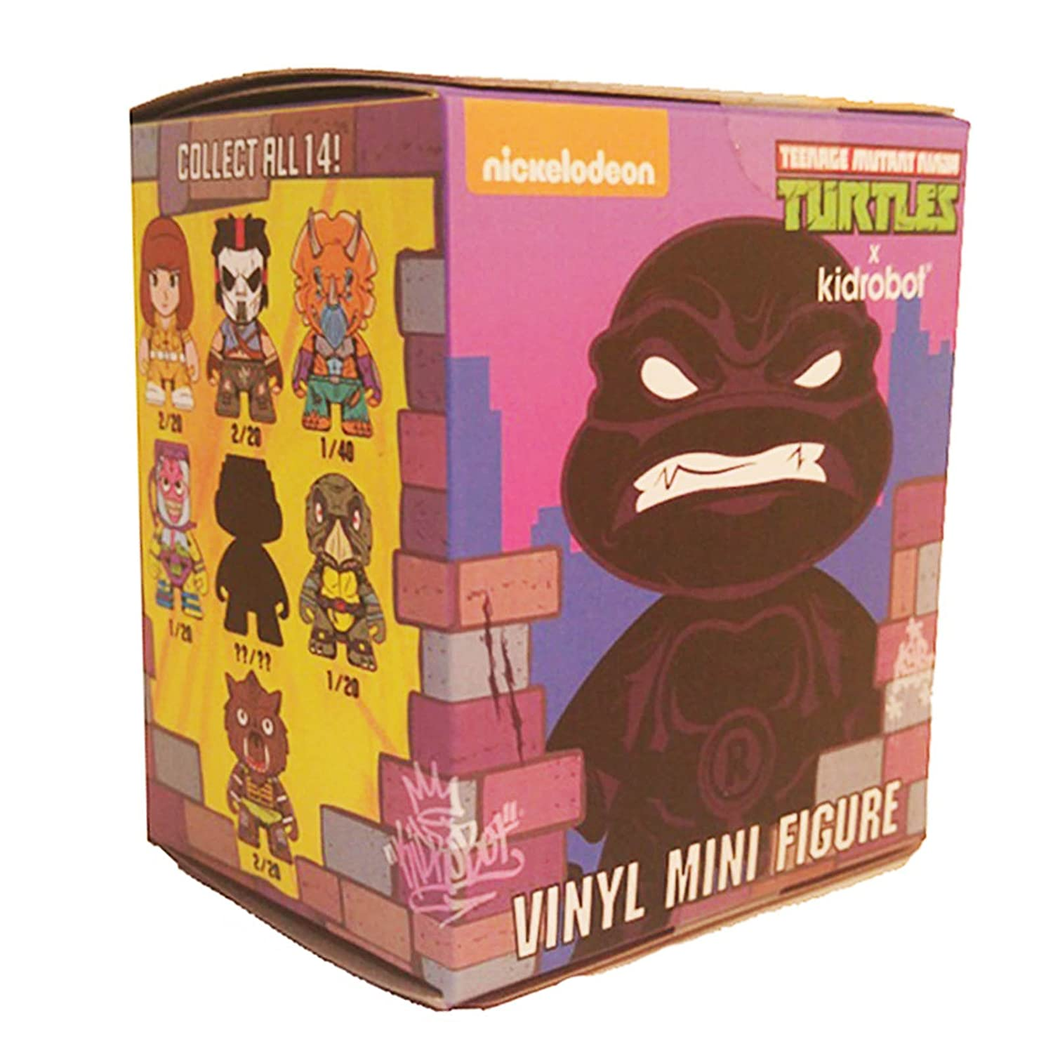 Kidrobot Teenage Mutant Ninja Turtles Series 2 Shell Shock Blind Box Figure - One Figure