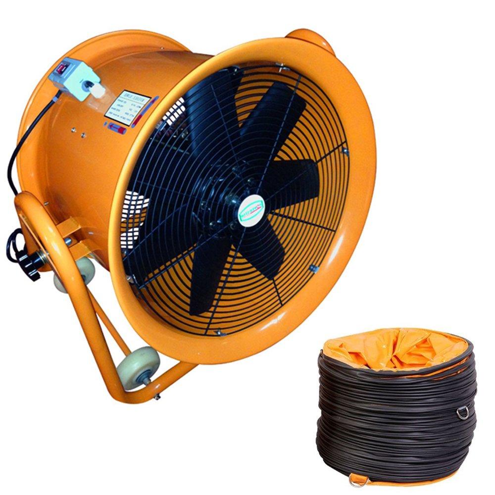 Portable Ventilator Industrial Air Axial Metal Blower Workshop Extractor Fan (8