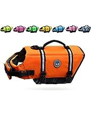 a5921e4f38 Vivaglory Dog Life Jacket Size Adjustable Dog Lifesaver Safety Reflective  Vest Pet Life Preserver