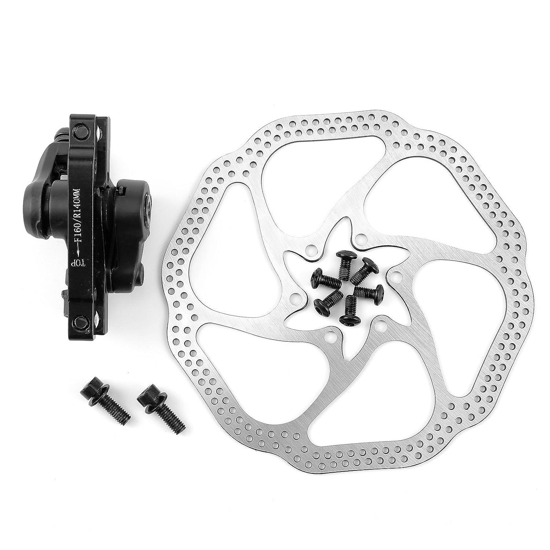 New Bicycle Bike MTB Mechanical Disc Brake Set Clamp Front Rear Brake Al Alloy
