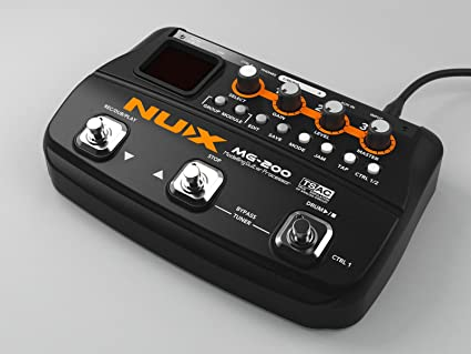 NUX MG-200 Procesador de Modelado de Guitarra multieffects