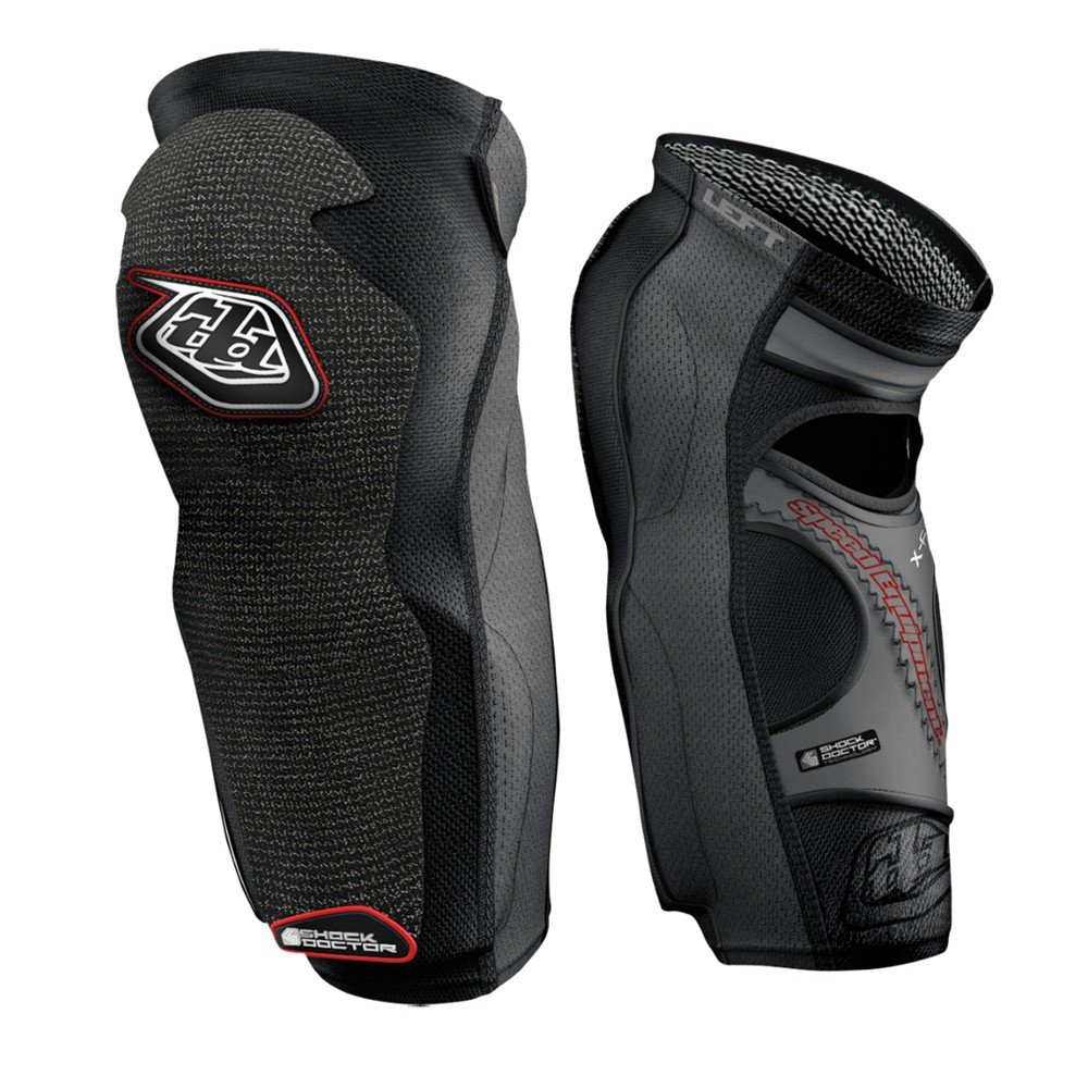 Troy Lee Designs KG 5450 Knee/Shin Guard Solid Black, XS by Troy Lee Designs