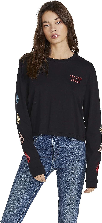 Volcom Womens Juniors The Stones Long Sleeve T-Shirt